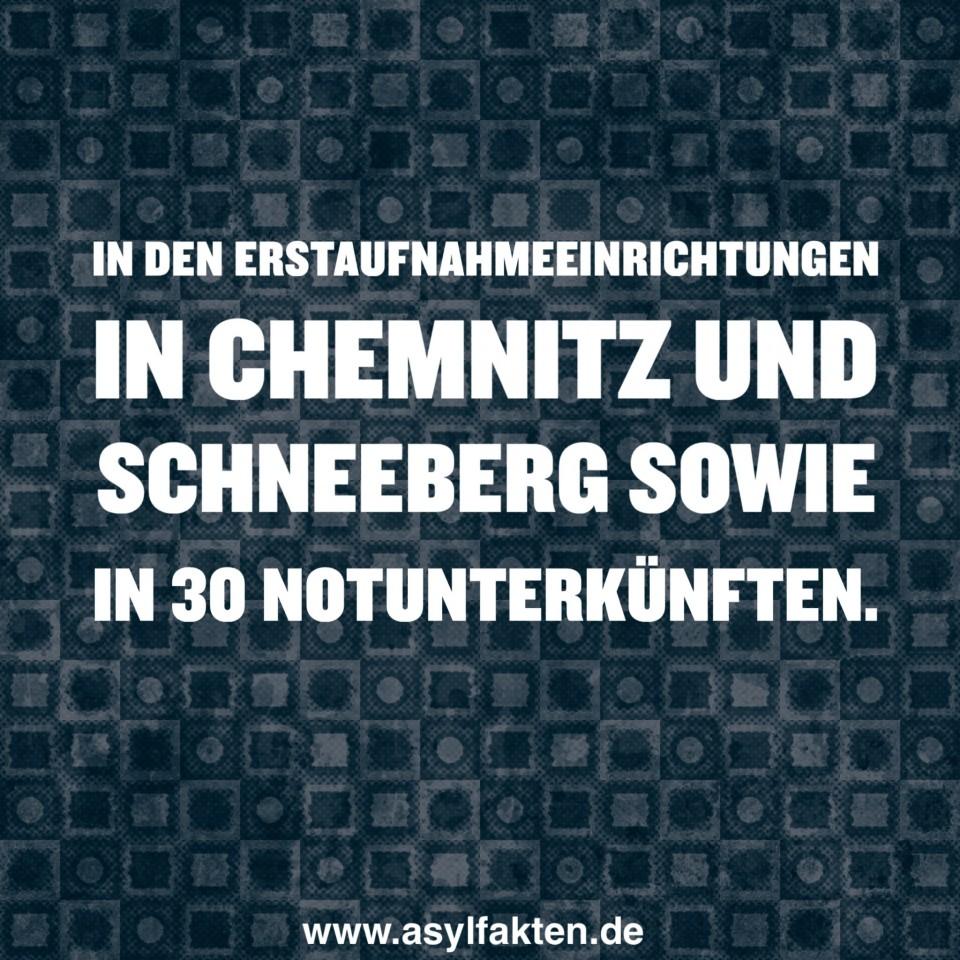 Wo werden Asylbewerber in Sachsen derzeit untergebracht?