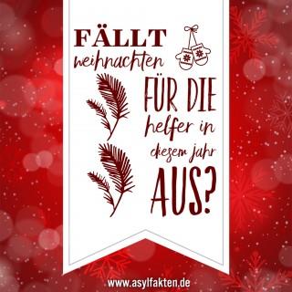 Weihnachten, Flüchtlinge, Helfer